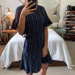Express Faux-Wrap XS Dress